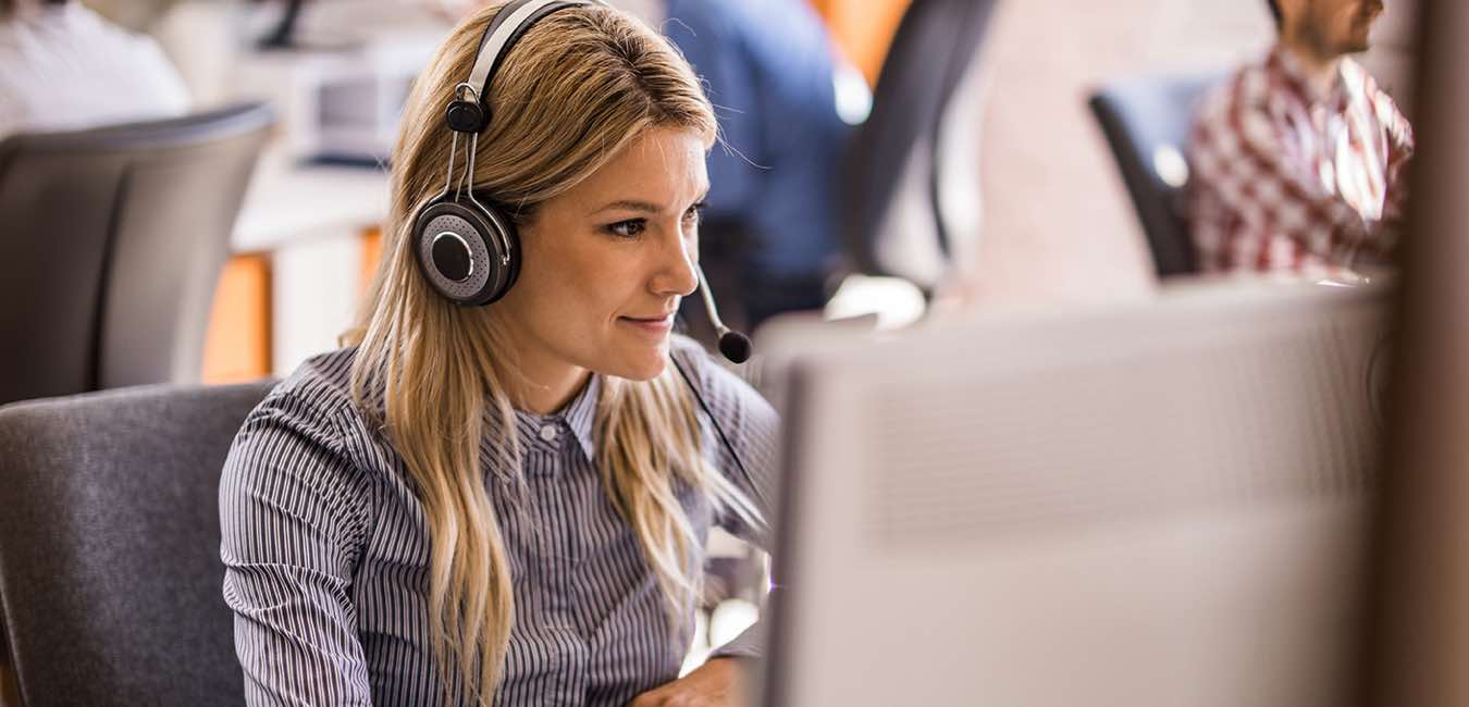 Customer Support Person