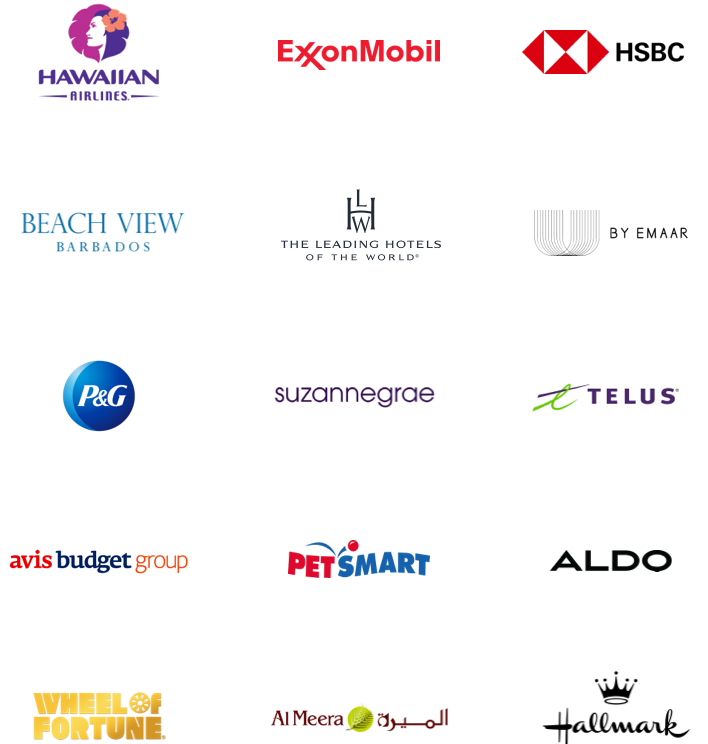 Array of Client Logos